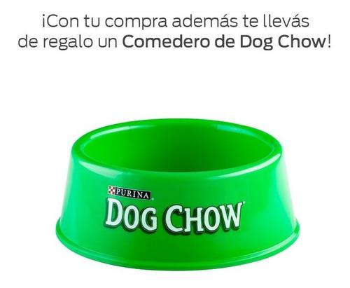 dog chow sin colorantes adultos med y grand 8kg + regalos
