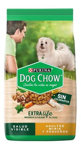 dog chow sin colorantes adultos minis y peque 8 kg + regalos
