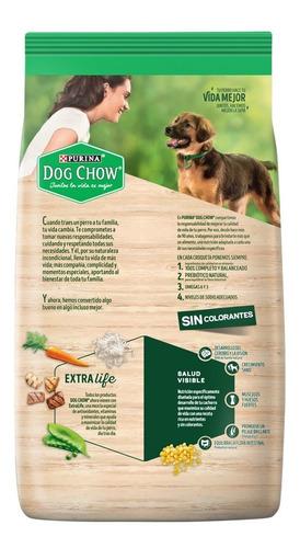 dog chow sin colorantes cachorros med y grandes 15kg+regalos
