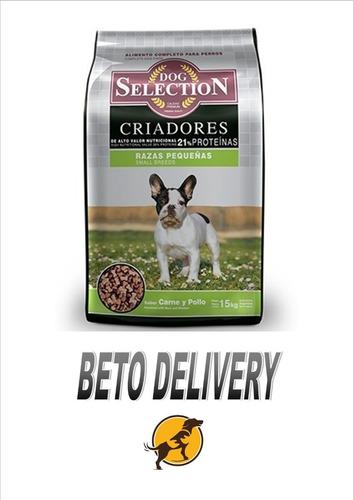dog selection criadores adulto razas pequeñas x15kg z/ezeiza