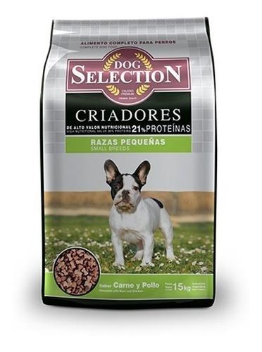 dog selection raza pequeña 15kg-envio a todo el pais