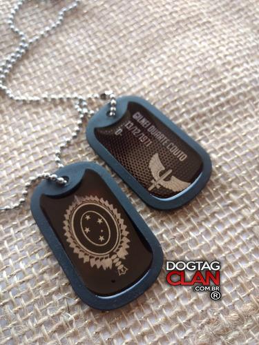 dog tag militar cordão militar do exercito