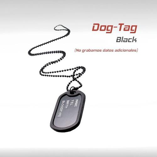dog tag militar placa identificacion chapas tactico airsoft