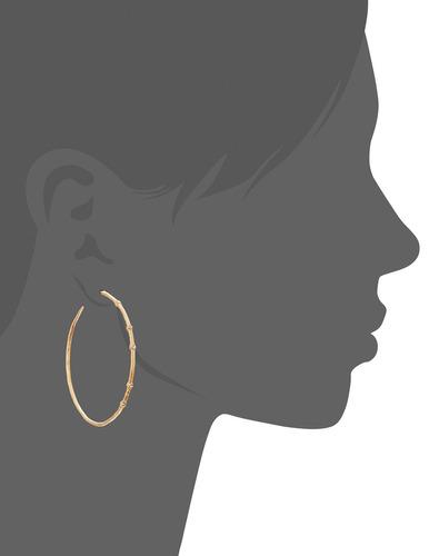 dogeared halo hoop earrings, gold