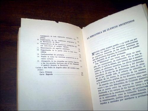 dogma socialista / y otras paginas _ esteban echeverria