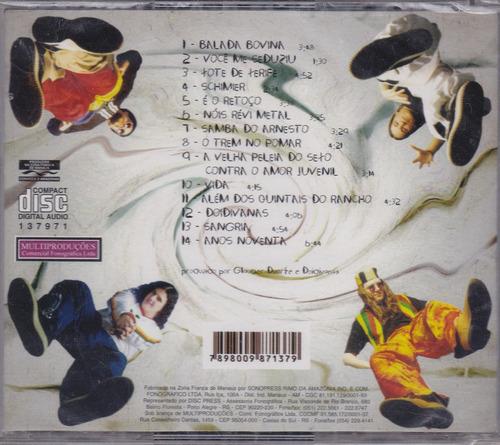 doidivanas - cd liber pampa - lacrado de fábrica