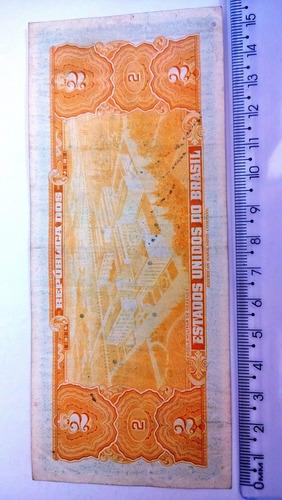 dois cruzeiros assinado numismática n°2099g