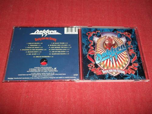 dokken - back for the attack cd imp ed 1990 mdisk