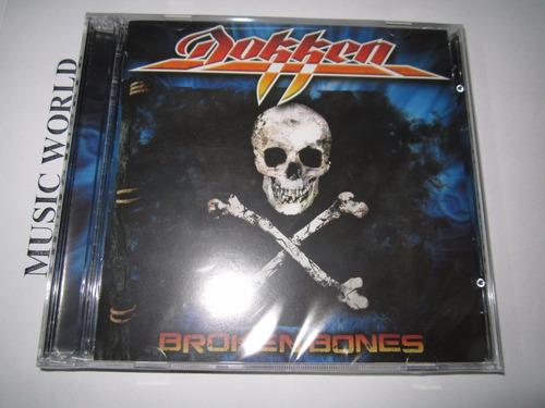 dokken broken bones cd + dvd nuevo disponible !