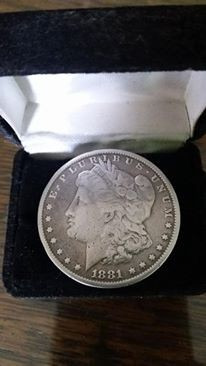 dolar de plata 1881