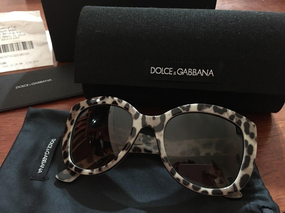 8190b89e07 dolce & gabbana gafas de sol animal print compradas en usa. Cargando zoom.
