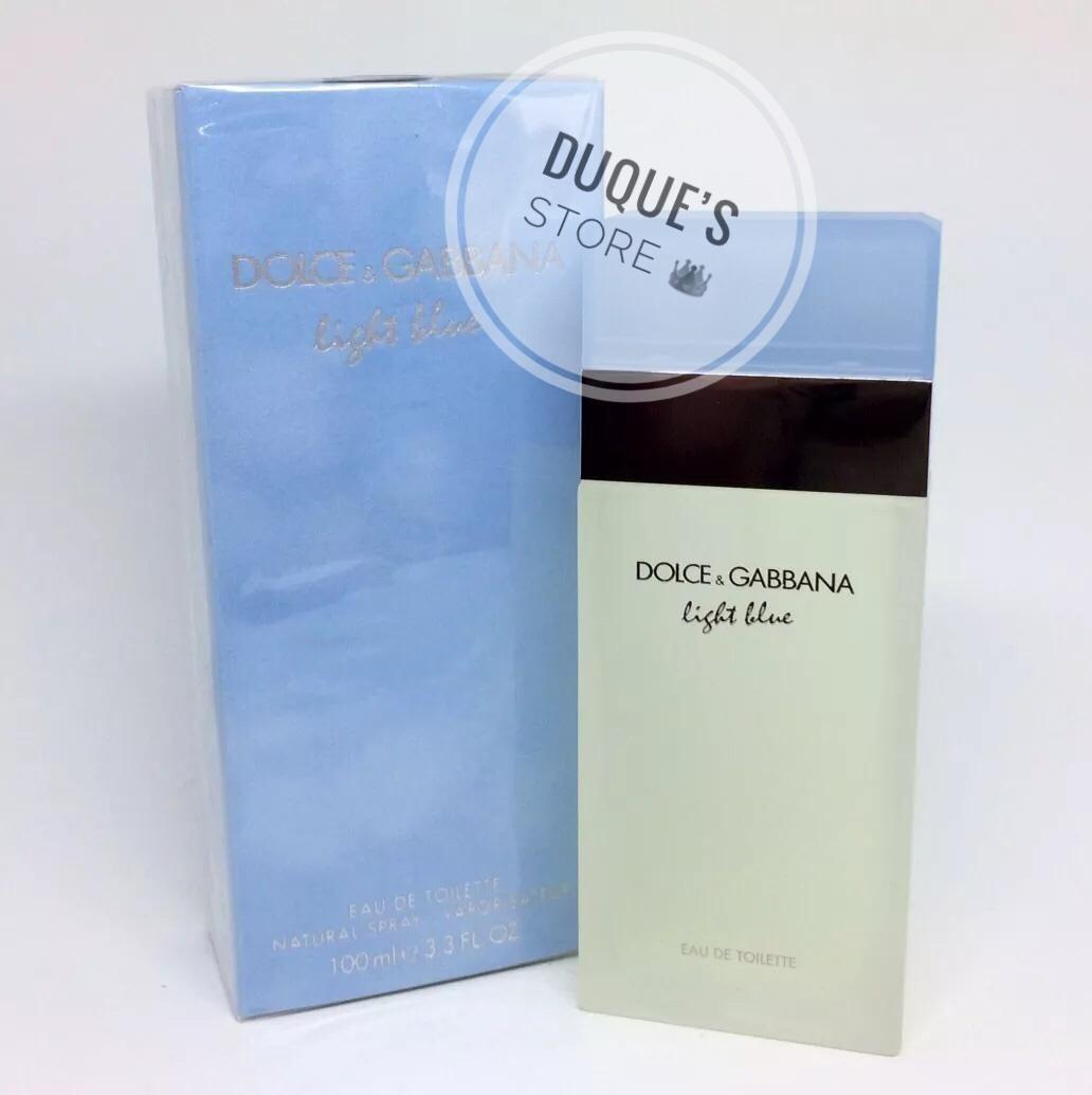 e75b9612e9 Dolce & Gabbana Light Blue Feminino Edt 100ml - R$ 331,90 em Mercado ...