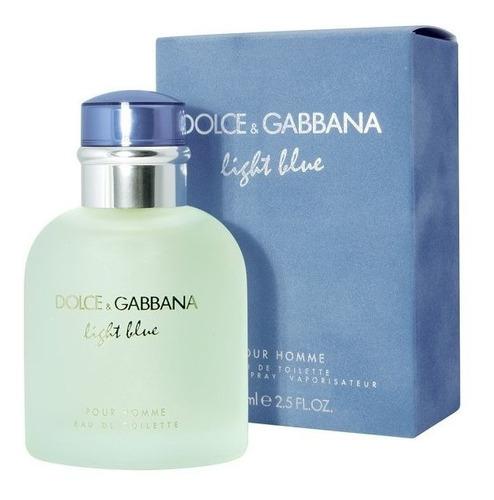 dolce gabbana light blue hombre 4,2z (125m) sellada original
