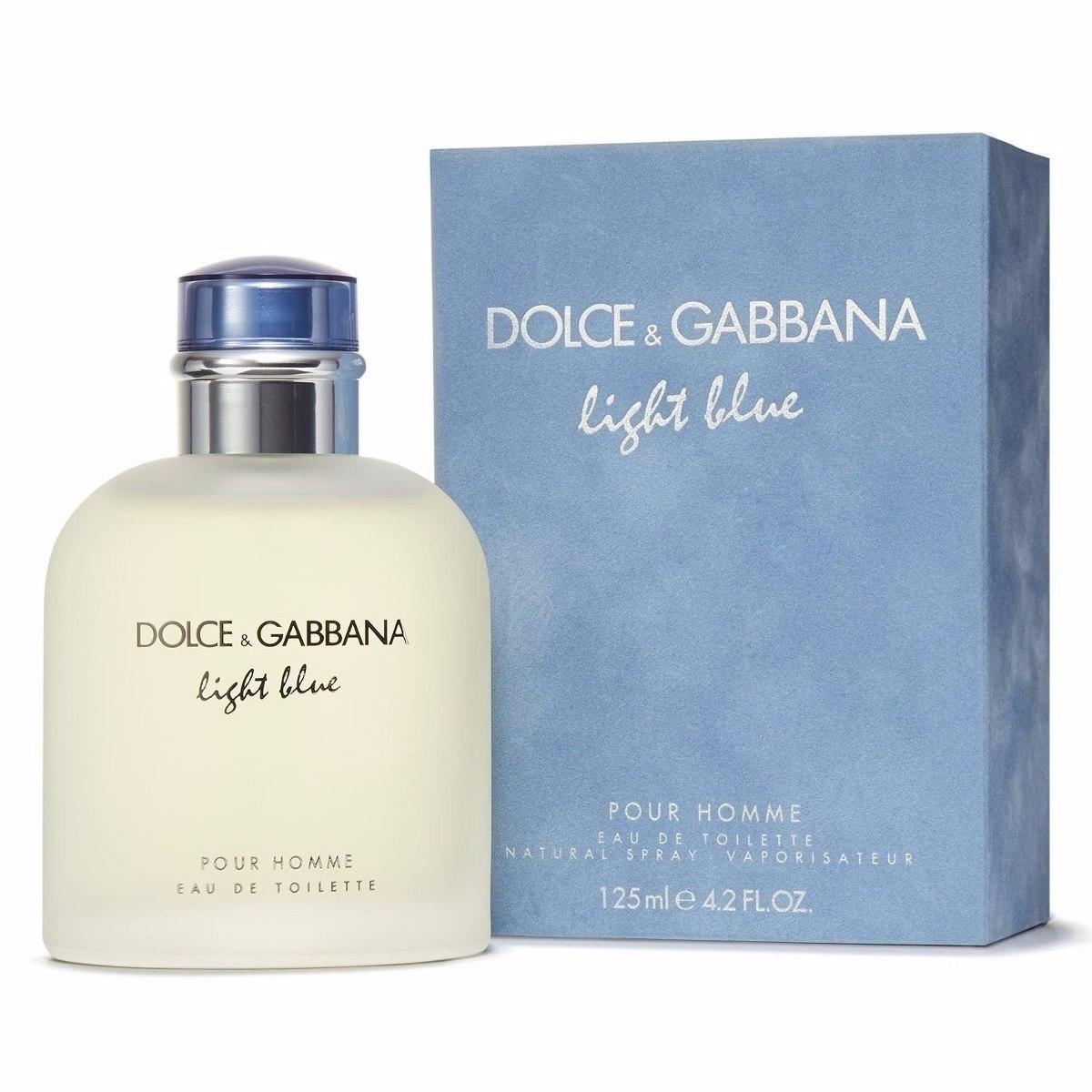 637e2bea56478 dolce   gabbana light blue masculino 125 ml -100% original. Carregando zoom.