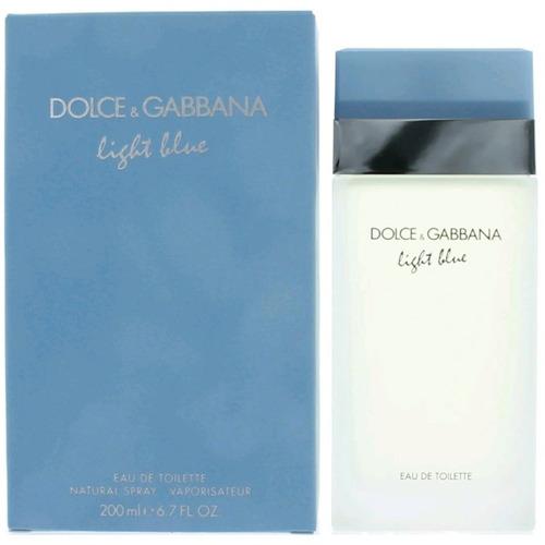 dolce gabbana light blue mujer 6.7oz (200ml)sellada original