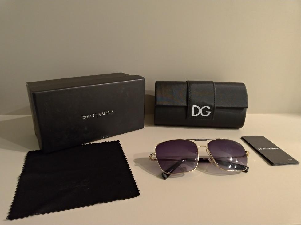Oculos De Sol Dolce   Gabbana. Unisex. Fashion. Quadrado. - R  250 ... 306b4d9096