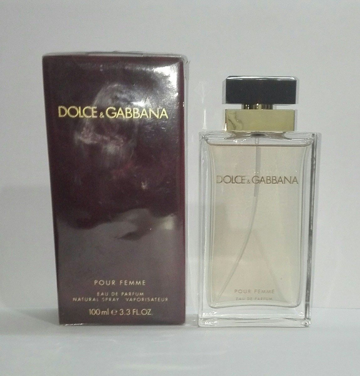 9fc3d2434e dolce & gabbana pour femme edp 100ml original nkt perfumes. Cargando zoom.