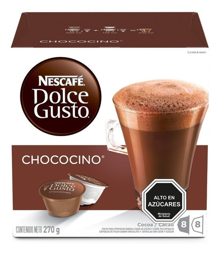 dolce gusto capsulas lacteados y chocolate pack x6 cajas