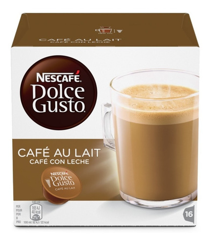 dolce gusto capsulas  lacteados,negros y chocolate pack x6