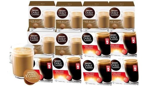 dolce gusto capsulas mix desayuno pack x12 cajas