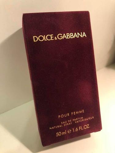 dolce&gabbana pour femme 50 ml - oportunidad importado