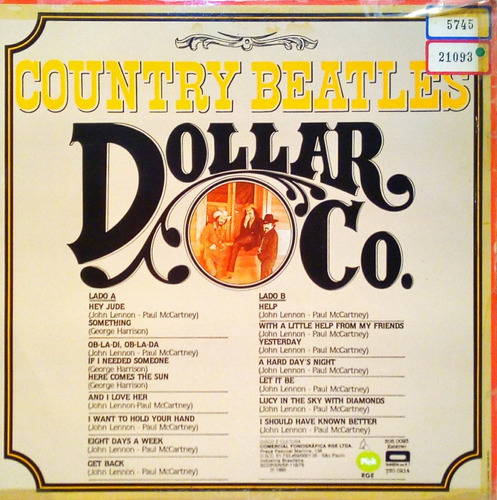 dollar co. lp 1980 country beatles 11423
