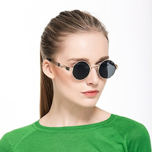 dollger john lennon gafas de sol steampunk metal primavera m