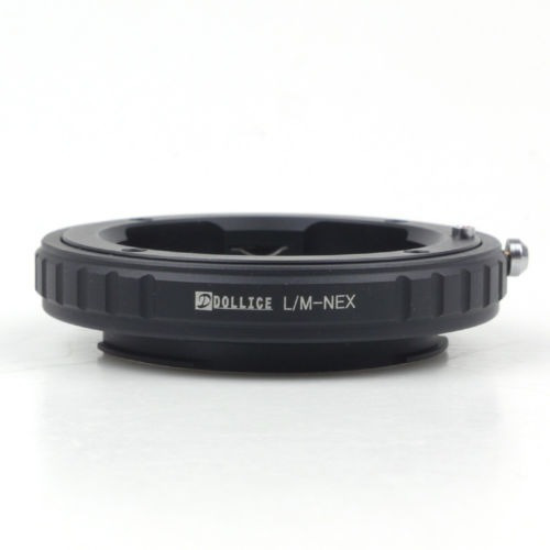 dollice leica m lente sony lente adaptador a6000 a5000 nex 5