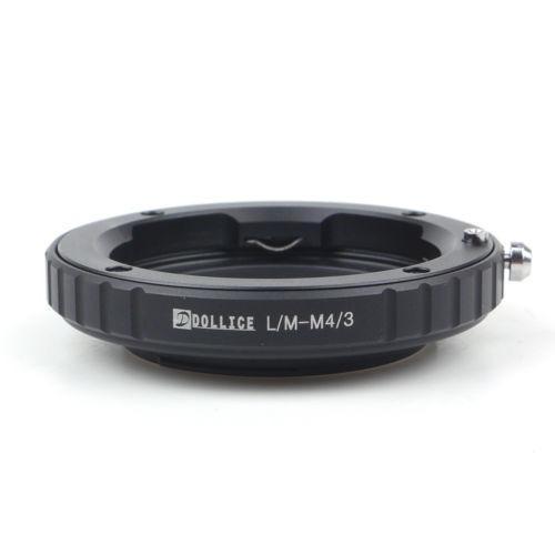 dollice leica m lentes micro cuatro tercios m4/3 lente adapt
