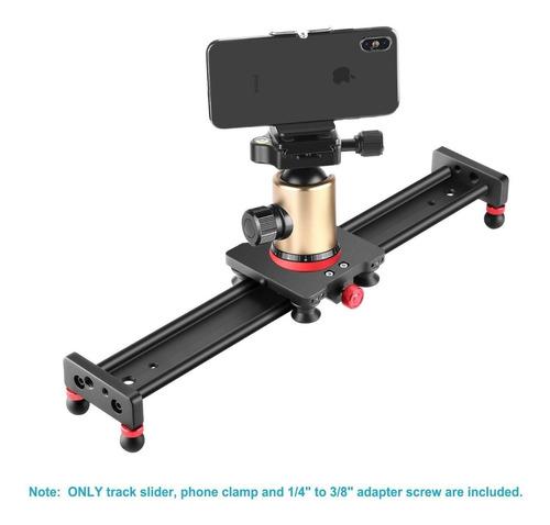 dolly slider 40 cms deslizador dslr gopro video neewer