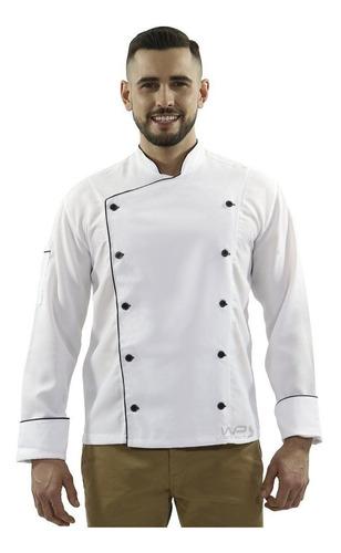 dolmã branco unissex jaqueta gambuza uniforme cozinheiro