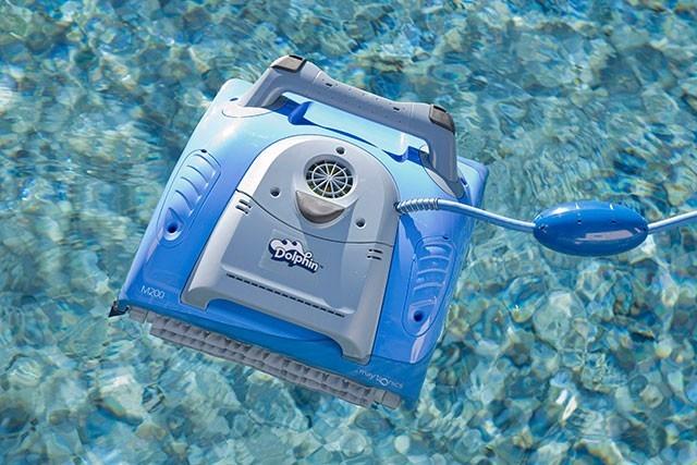 Dolphin supreme m200 robot limpia piscinas 30 for Robot limpia piscina