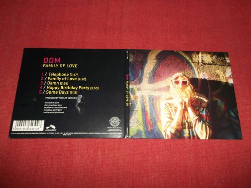 dom - family of love cd ep usa ed 2011 mdisk