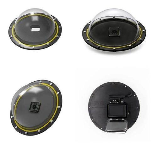 dome - 6 polegadas - gopro hero5 hero6 hero7 black - telesin