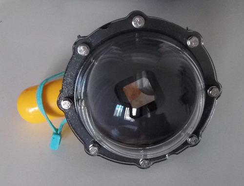dome acryflon gopro hero5 session + bastão flutuante