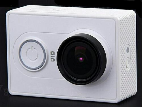 dome shoot 4in para câmera xiaomi yi 2k com bastão flutuante