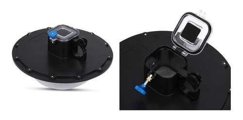 dome telesin 6 polegadas para gopro hero 4 5 session