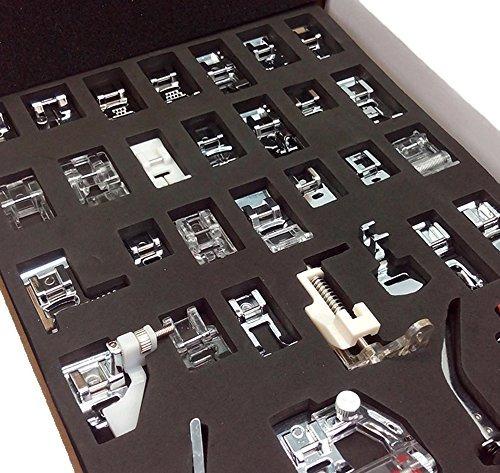 doméstica 42 piezas coser pie prensaer empanadas conjunto p