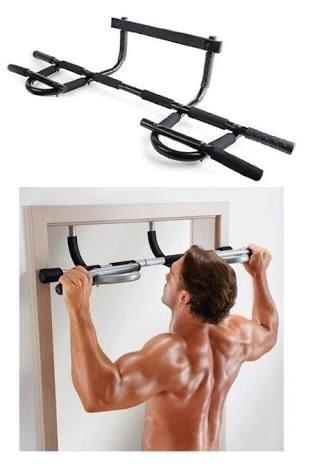 dominadas ejercicios barra