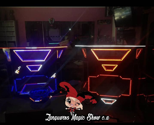 domineitor robot led / hora loca led / barra coctelera led