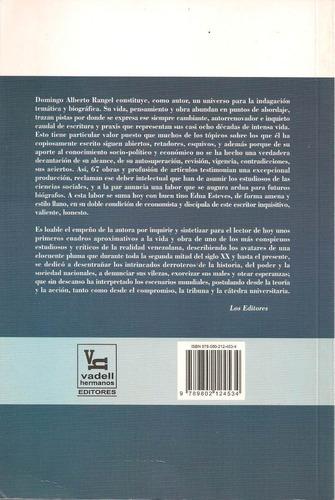 domingo alberto rangel (biografía / nuevo)