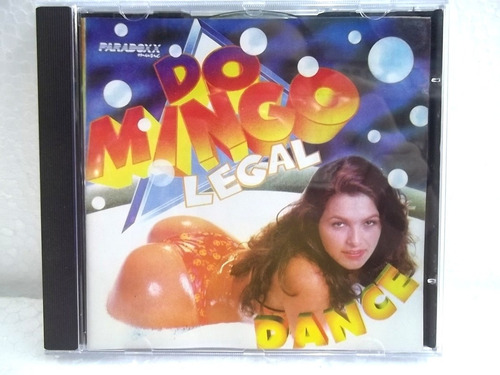 domingo legal dance 1996 cd original estado impecável