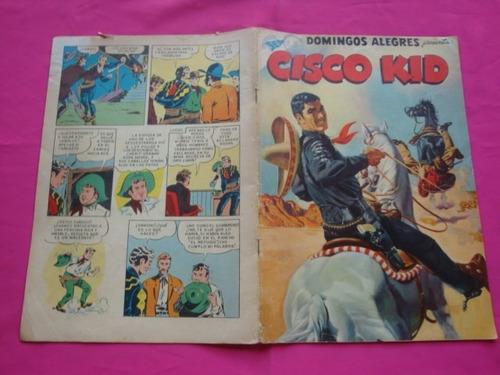 domingos alegres n° 175 cisco kid editorial novaro sea 1957