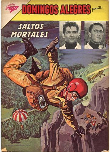domingos alegres nº 461, saltos mortales, enero1963, novaro