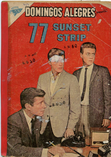 domingos alegres nº 464,77 sunset strip, febrero1963, novaro