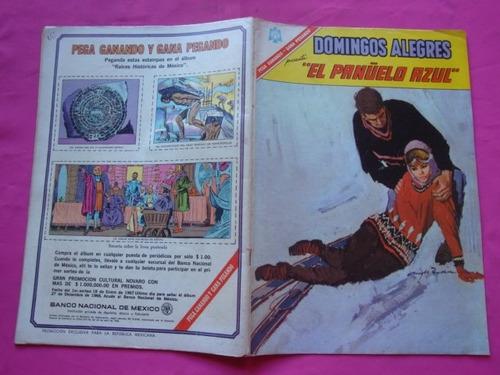 domingos alegres n° 665 año 1966 el pañuelo azul ed. novaro