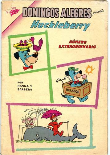 domingos alegres número extraordinario, huckleberry ,1963