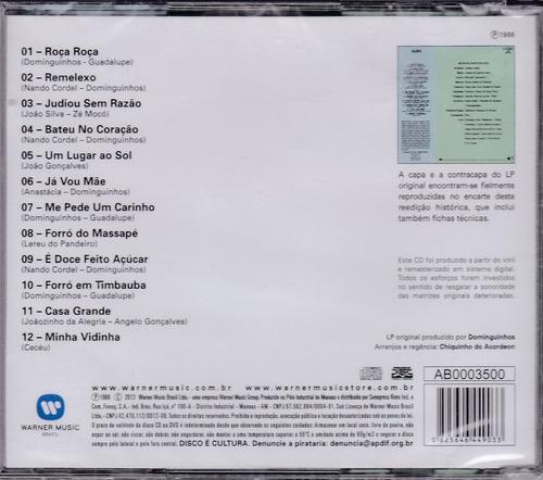 dominguinhos cd é isso aí simples como a vida 1988 lacrado