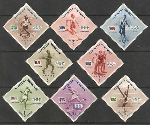 dominicana olimpiadas melbourne 1956 rombos