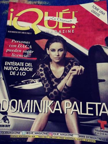 dominika paleta revista que